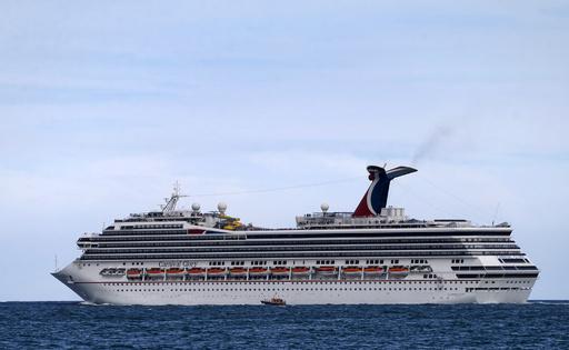 大型クルーズ船同士が衝突、6人負傷 メキシコ人気リゾートの港湾で