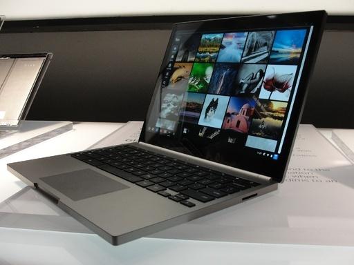 米グーグル、新ノートPC「クロームブック・ピクセル」を発表 高画質タッチ画面搭載
