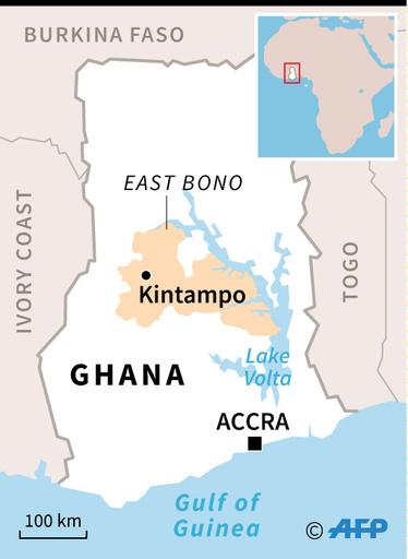 ガーナでバス2台が正面衝突 60人死亡、28人負傷か