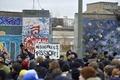 「この壁を壊すな!」、ベルリンの壁撤去に怒りの抗議デモ