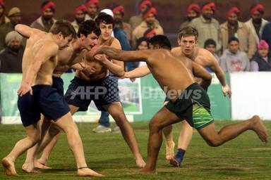 国際ニュース:AFPBB NewsカバディのW杯、インドで開催中
