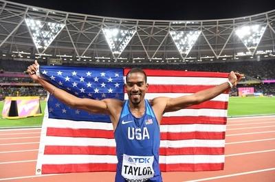 米国勢が男子三段跳びと女子400mハードルでワンツー、世界陸上