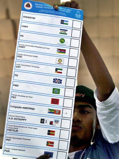 東ティモール総選挙、与党「フレティリン」勝利、連立の可能性も