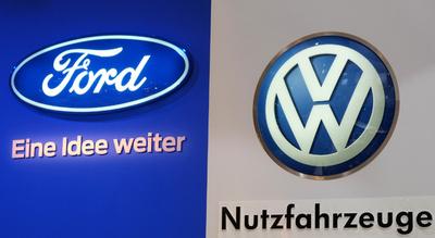 フォードとVW、15日にも戦略的提携発表か