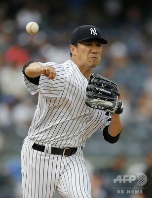 ヤンキースの連続得点試合が「220」でストップ、田中が敗戦投手に 写真 ...