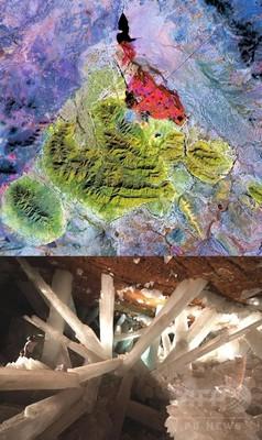 6万年前の微生物、メキシコ鉱山で発見 NASA科学者