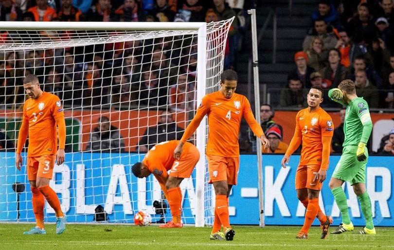 オランダが欧州選手権予選敗退、...