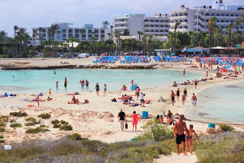 7月のキプロス観光客、史上最高に
