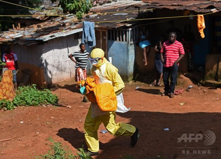 シエラレオネ首都でエボラの新規患者3人確認、3週間ぶり