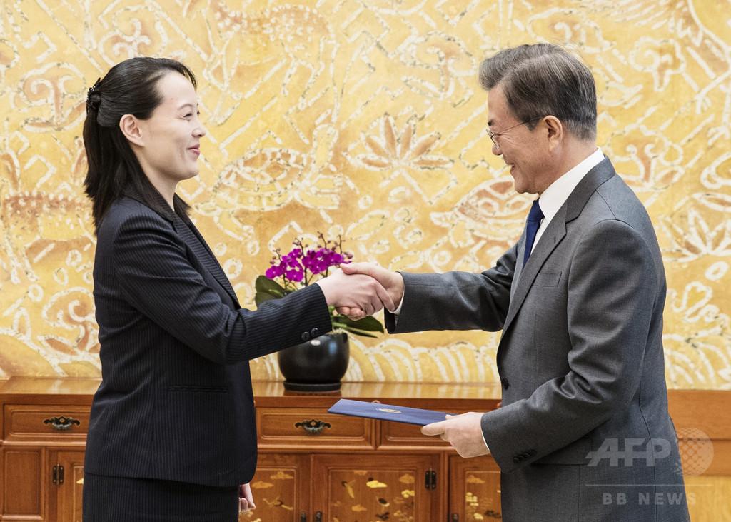 韓国大統領、南北首脳会談「急ぎ過ぎ」