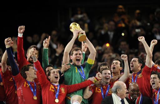 スペインが初の戴冠―2010年南アフリカ大会