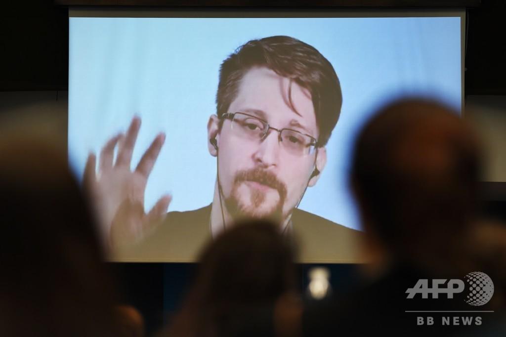 スノーデン容疑者、アサンジ容疑者逮捕で報道の自由侵害を懸念