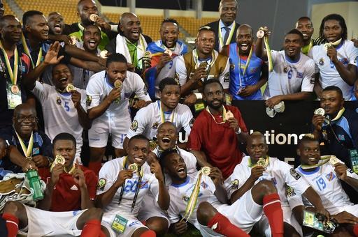 コンゴ民主共和国、PK戦を制し3位に アフリカネーションズカップ