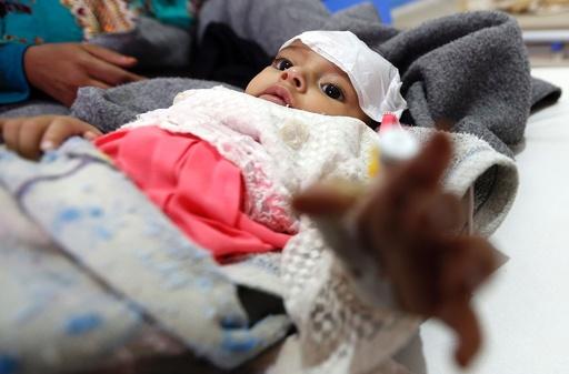 イエメン、コレラの死者1000人に近づく