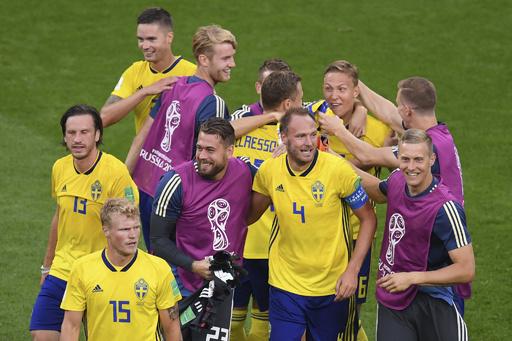 【写真特集】ロシアW杯グループF、メキシコ対スウェーデン