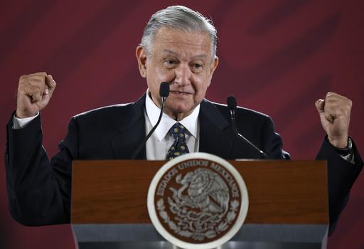 メキシコ大統領の執務室で隠しカメラ見つかる、本人は心配せず