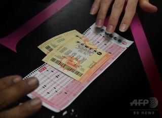 米宝くじで大当たりが連続、2本で1130億円超