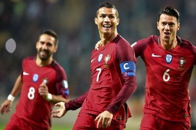 4得点のロナウド「残りの試合は全勝」宣言、ポルトガルがアンドラに大勝