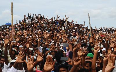 ロヒンギャの「ジェノサイドは今も続いている」、国連調査団長
