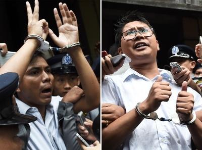 国際社会、ミャンマーを非難 ロヒンギャ取材記者への禁錮刑で
