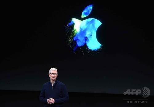 アップルCEO、自動運転システムに言及 未来の「中核技術」
