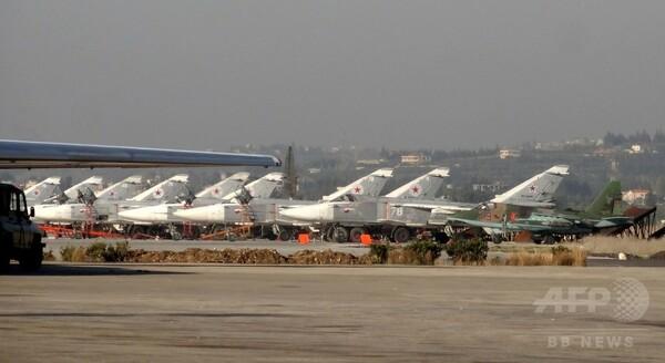 プーチン大統領、シリアからのロシア軍撤退開始を命令