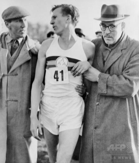 元英陸上選手バニスター氏が死去、人類初1マイル4分切り達成
