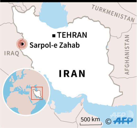 イラン西部でM6.4の地震、700人超が負傷