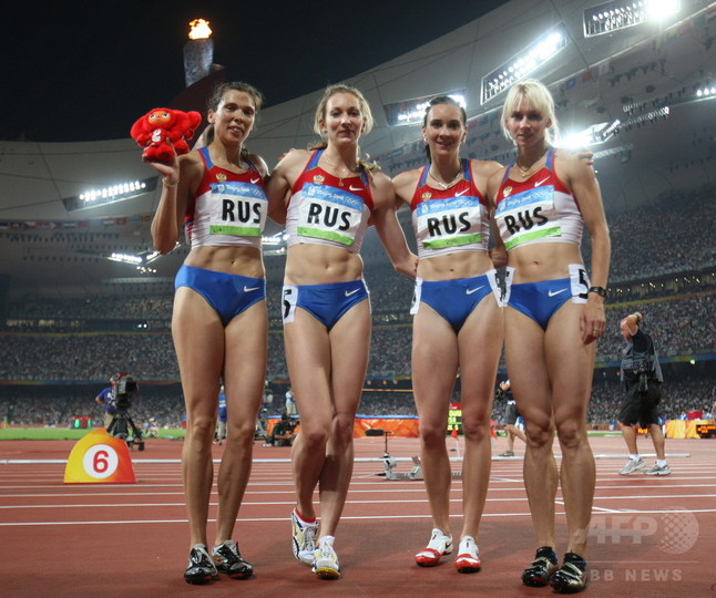 ロシア、ドーピングで北京五輪の銀メダル剥奪 陸上女子1600mリレー