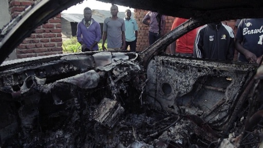 動画:コンゴで武装勢力とPKO部隊が衝突、エボラ対応活動が一時中断