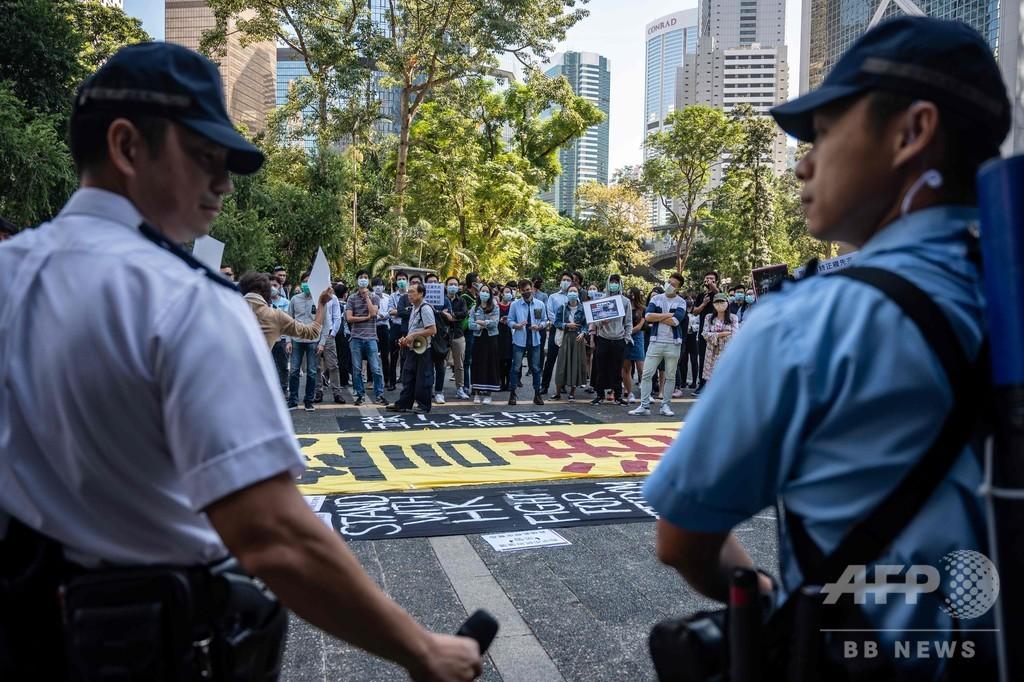 香港統治制度への「挑戦容認せず」と中国が表明、愛国心強化へ