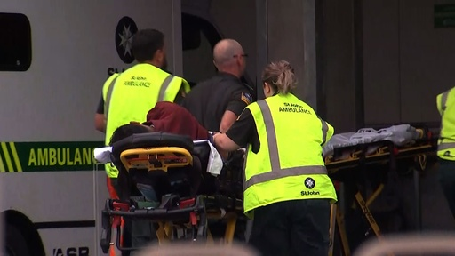 動画:NZのモスクで銃乱射、複数の死傷者との報道 事件発生の市内の映像