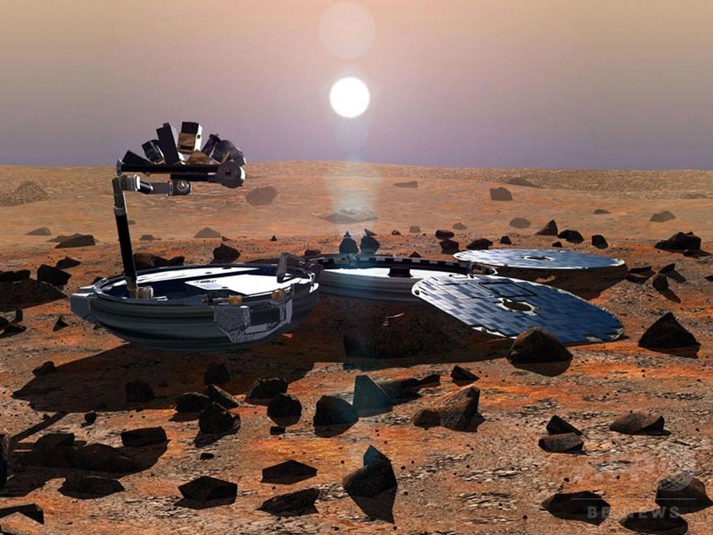 2003年に消息絶った火星探査機、火星表面で発見 英宇宙庁