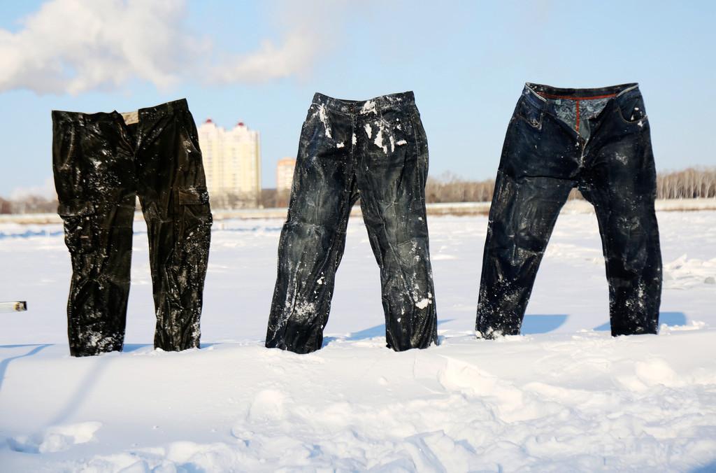 「爆冷モード」全開! 中国・黒竜江省で氷点下45度