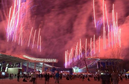 アジア大会が韓国・仁川で開幕