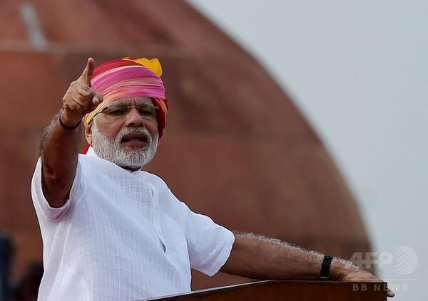 インド首相、過去2年間でトイレ2000万か所を新設と発表