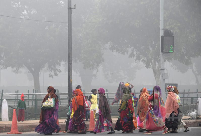 世界人口の9割超、高レベルの汚染物質を体内に 毎年700万人死亡