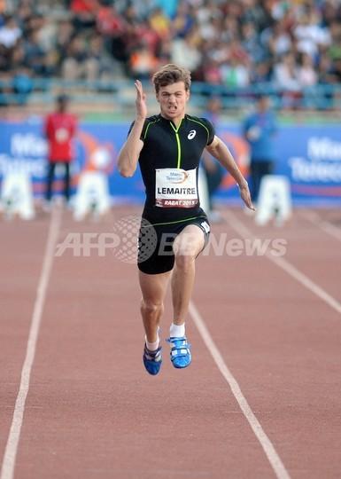 ルメートルが男子100mでガトリン...