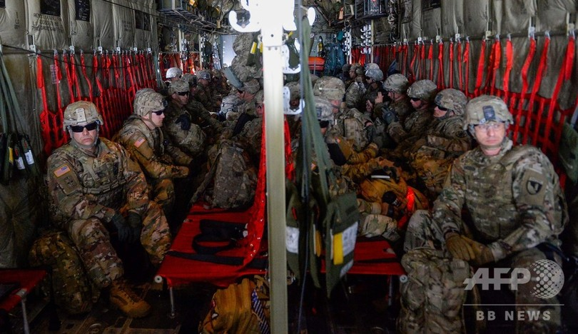 メキシコとの国境州に兵士7000人超の配備完了へ、米軍発表
