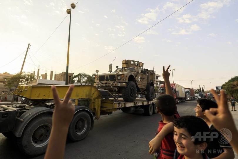 米支援のシリア民主軍、ISの「首都」ラッカの9割制圧 監視団