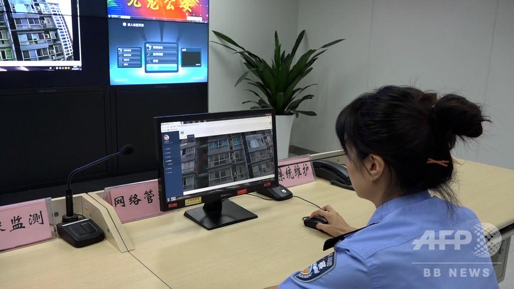 重慶警察が「ポイ捨てスマート監視システム」導入 中国初