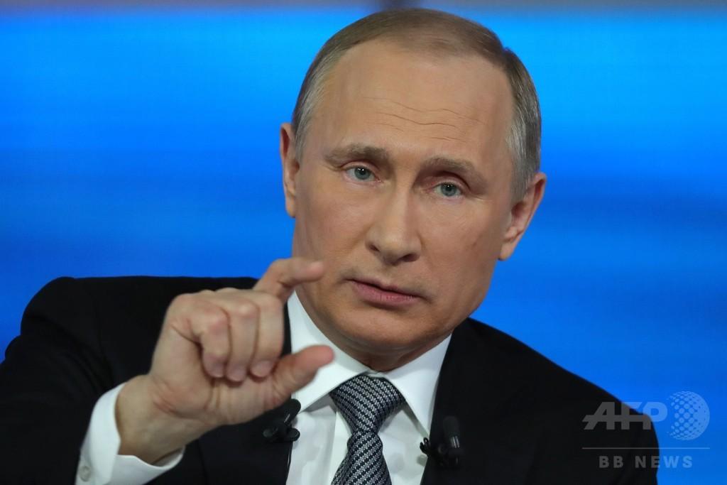プーチン大統領、メルドニウム使用は「ドーピングではない」