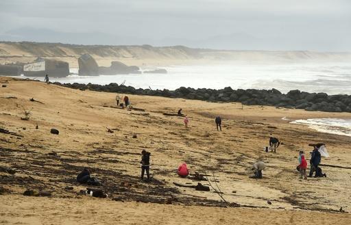高純度コカイン1000キロ以上が漂着、浜辺を閉鎖 仏南西部