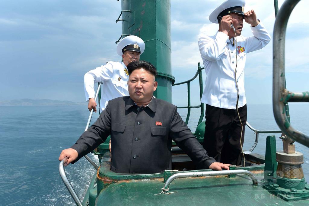 北朝鮮、新たなSLBM発射実験の準備か 衛星写真