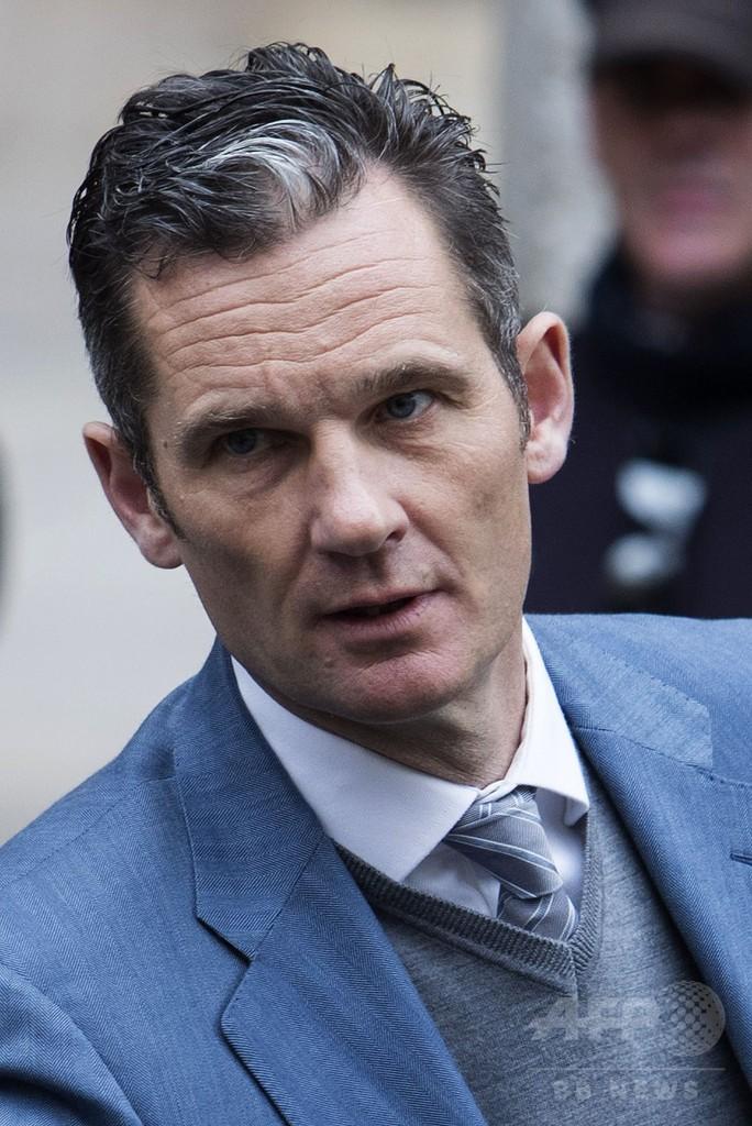 スペイン王女の夫で元五輪選手を収監、禁錮5年10月の実刑判決