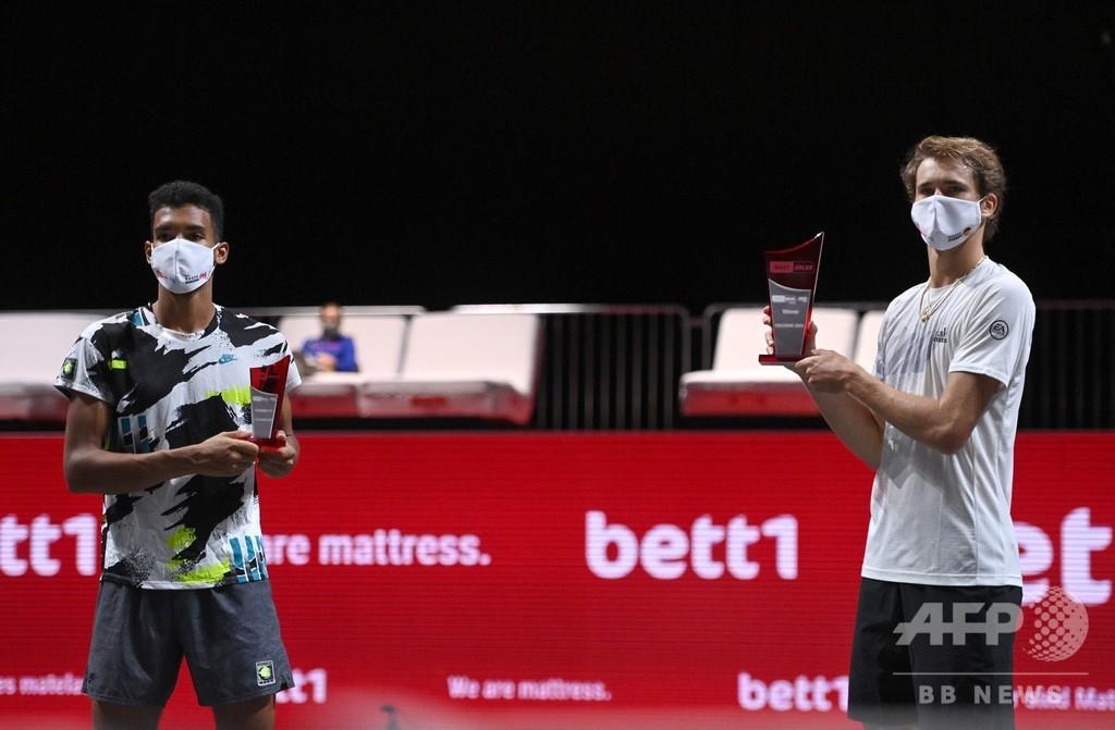 ズベレフ優勝、オジェ・アリアシムは決勝6連敗 ベット1ハルクス室内