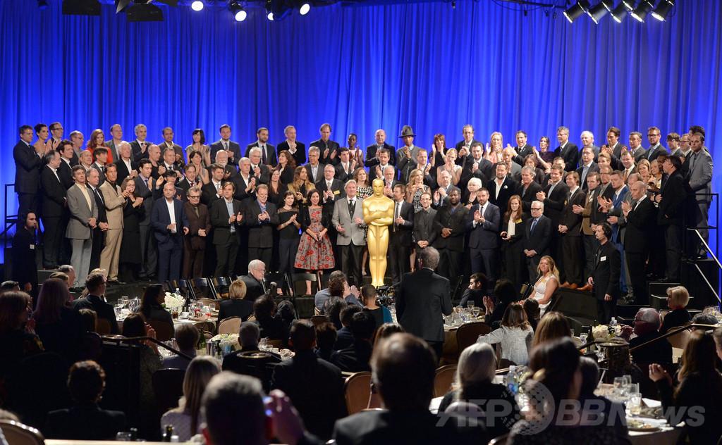 アカデミー賞候補者が勢ぞろい 「ノミニーズ・ランチョン」