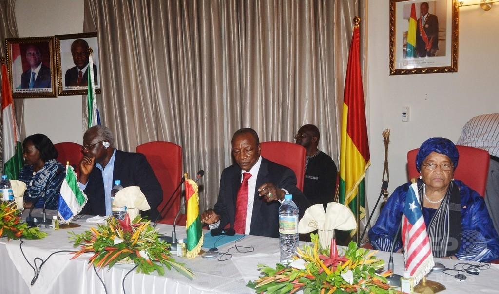 ギニアなど3か国、エボラ出血熱の流行中心地を隔離へ