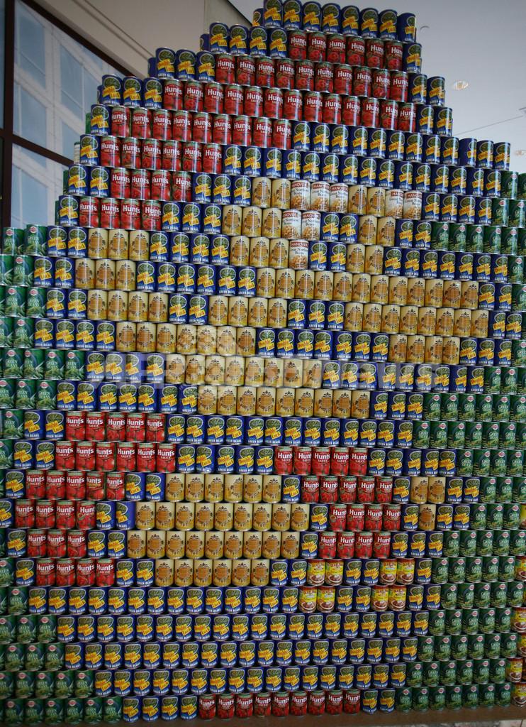 スーパーマリオにポテトヘッド、缶詰でこんなのできちゃいました