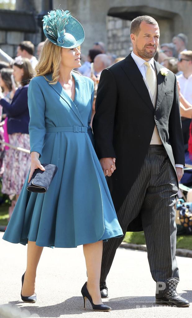 英女王の最年長の孫、離婚へ 王室にさらなる苦難